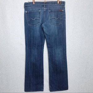 7 For All Mankind Women Lowrise Bootcut Jeans 32